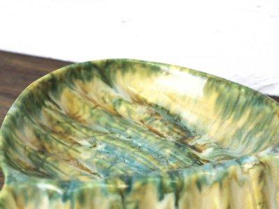 画像1: ビンテージ Enchant社製 陶器トレイ
